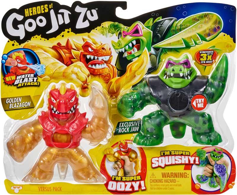 Wholesalers of Heroes Of Goo Jit Zu Versus Pack S2 toys