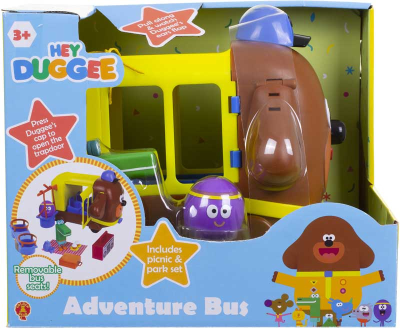 Wholesalers of Hey Duggee Adventure Bus Playset toys