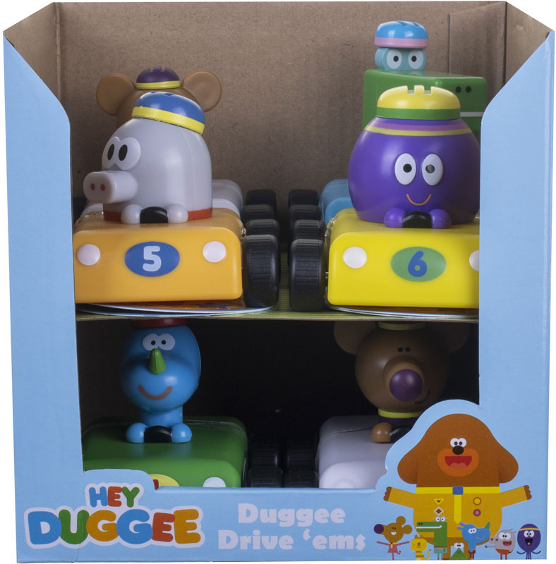 Wholesalers of Hey Duggee Drive Ems Asst toys
