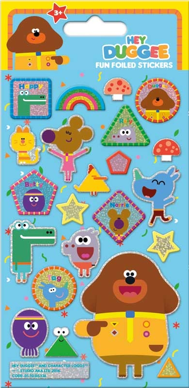 Wholesalers of Hey Duggee Foil Stickers toys