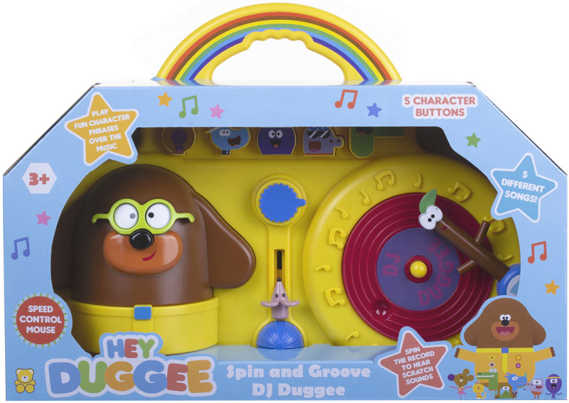 Wholesalers of Hey Duggee Spin And Groove With Dj Duggee toys