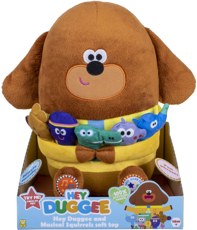 Wholesalers of Hey Duggee With Music And Storytime Squirrels toys