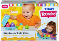 Wholesalers of Hide & Squeak Bright Chicks toys image