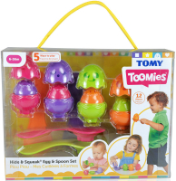 Wholesalers of Hide & Squeak Egg & Spoon Set toys image