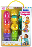 Wholesalers of Hide & Squeak Egg Stackers toys image