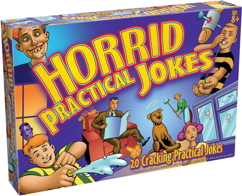 Wholesalers of Horrid Practical Jokes toys