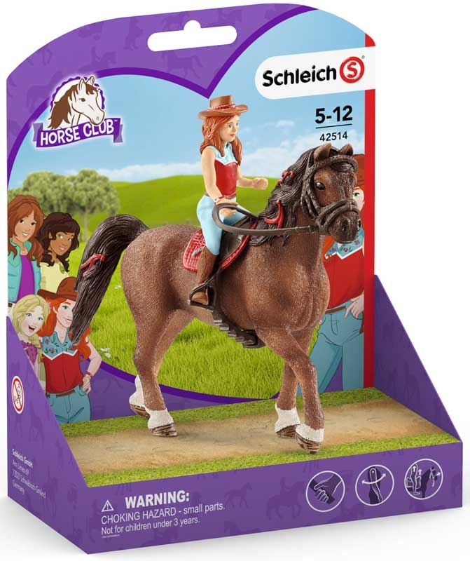 Wholesalers of Schleich Horse Club Hannah & Cayenne toys
