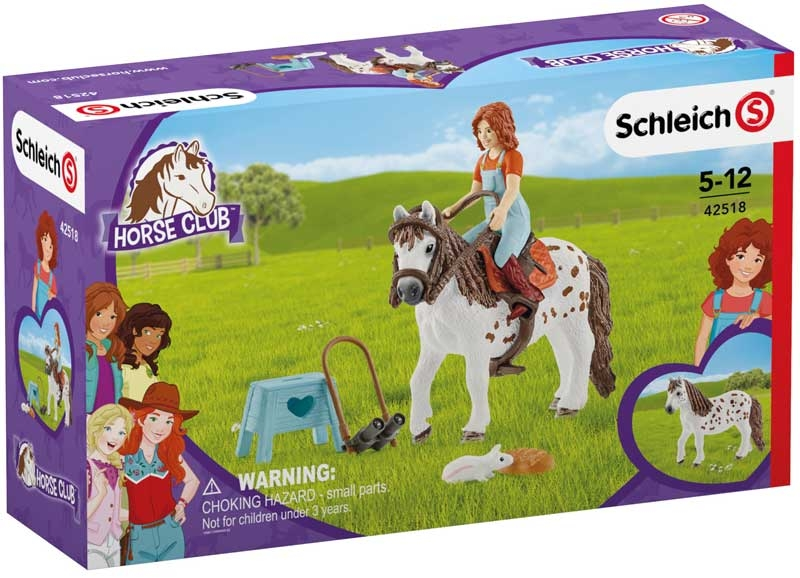 Wholesalers of Schleich Horse Club Mia & Spotty toys