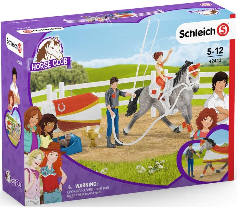 Wholesalers of Schleich Horse Club Mias Vaulting Set toys