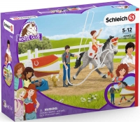 Wholesalers of Schleich Horse Club Mias Vaulting Set toys image