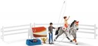 Wholesalers of Schleich Horse Club Mias Vaulting Set toys image 2