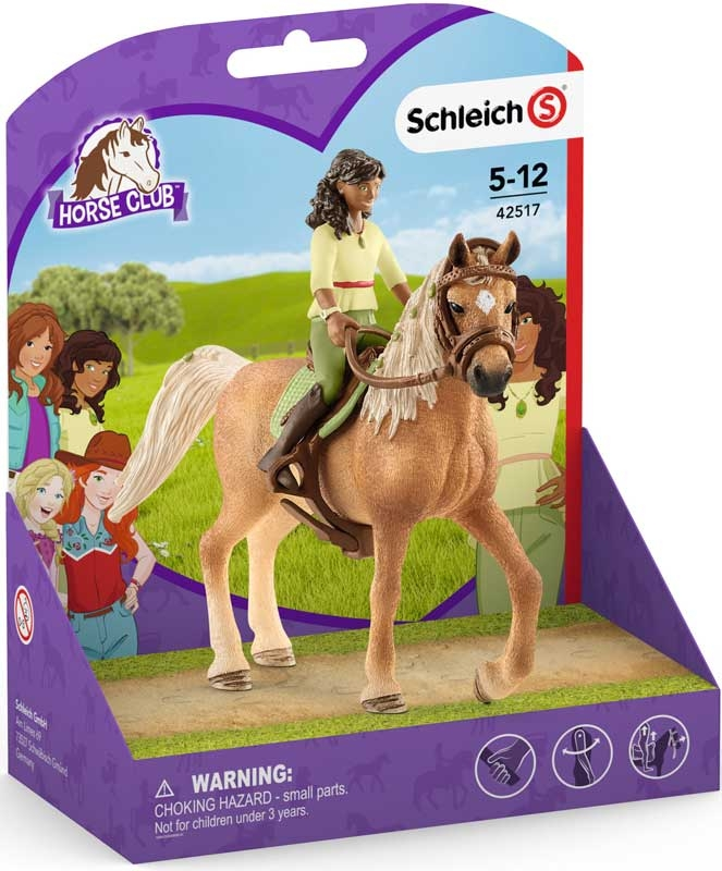 Wholesalers of Schleich Horse Club Sarah & Mystery toys