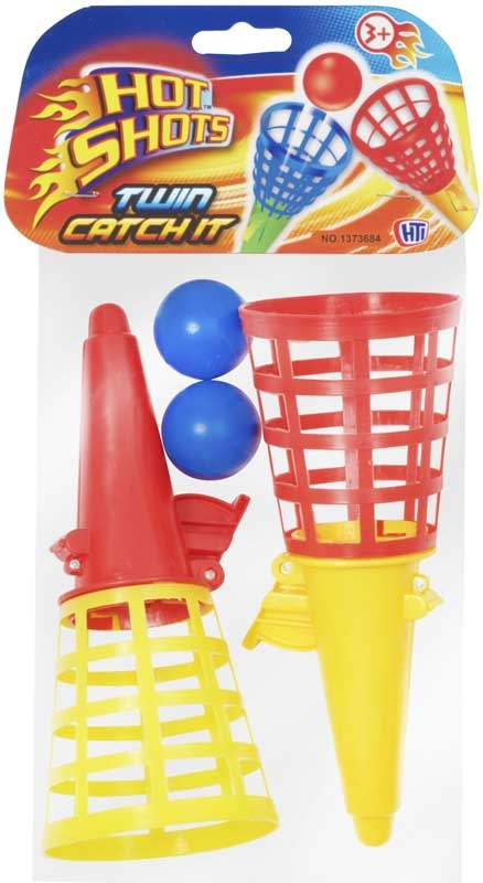 Wholesalers of Hot Shots Twin Catch It Asst toys