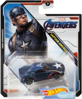 Wholesalers of Hot Wheels 1:64 Marvel Character Car Asst toys image