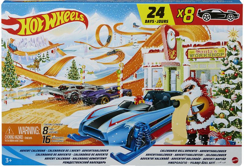 Wholesalers of Hot Wheels 2021 Advent Calendar toys