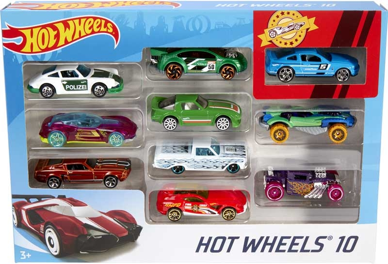 Wholesalers of Hot Wheels Basic Car 10 Pack toys