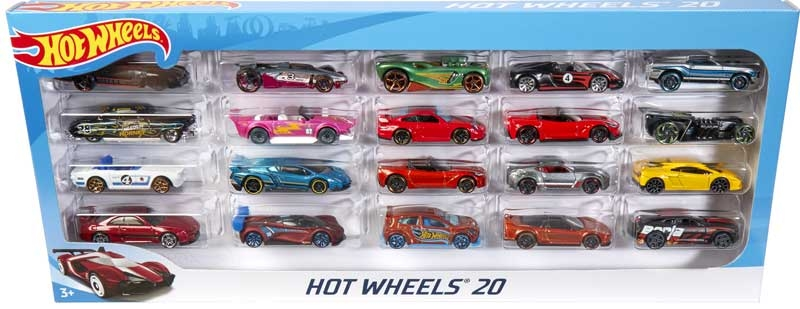 Wholesalers of Hot Wheels Basic Car 20 Pack toys