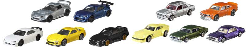 Wholesalers of Hot Wheels Car Culture Asst toys
