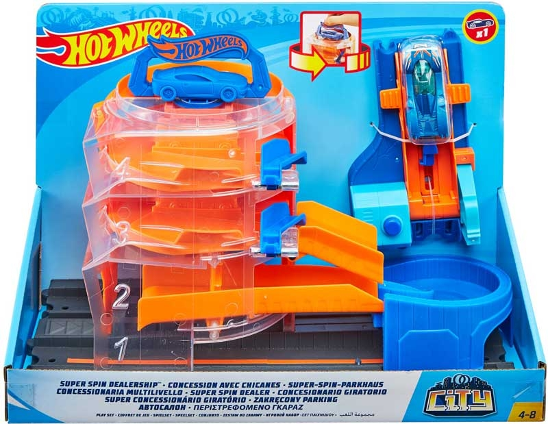 Wholesalers of Hot Wheels City Super Asst toys