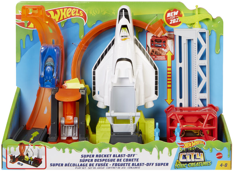 Wholesalers of Hot Wheels City Super Space Shuttle toys