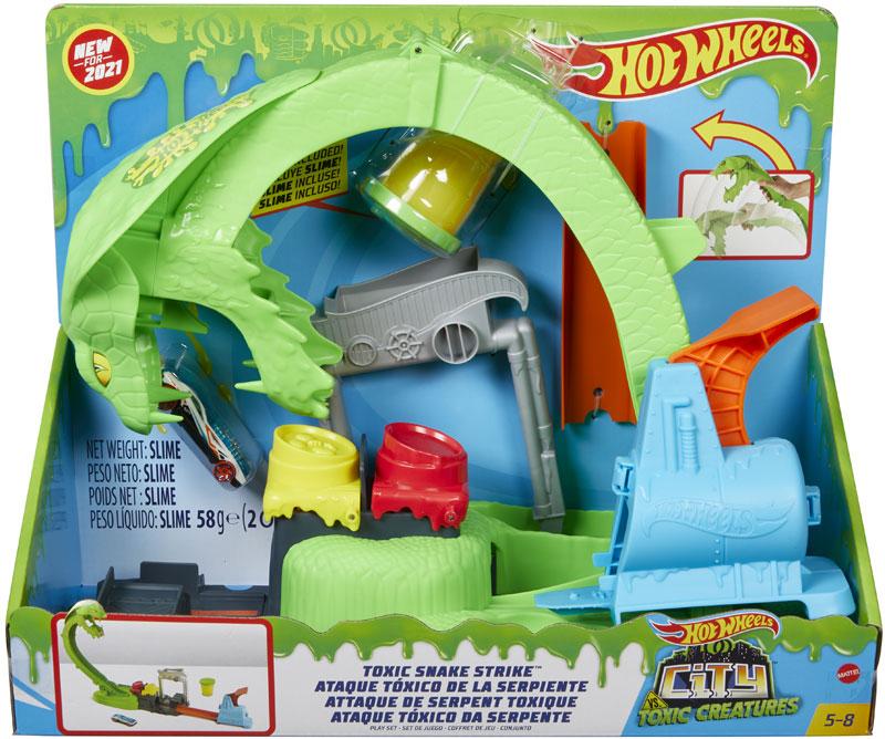 Wholesalers of Hot Wheels City Toxic Snake Strike toys