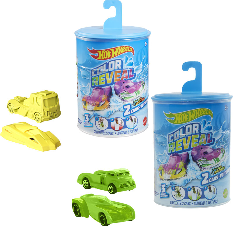 Wholesalers of Hot Wheels Color Reveal 2 Pack Asst toys