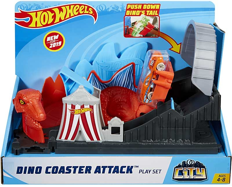 Wholesalers of Hot Wheels Dino Coaster Attack Playset toys