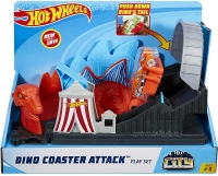 Wholesalers of Hot Wheels Dino Coaster Attack Playset toys image