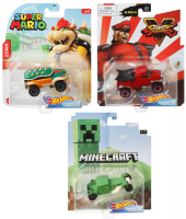 Wholesalers of Hot Wheels Gaming Character Cars Asst toys image 2