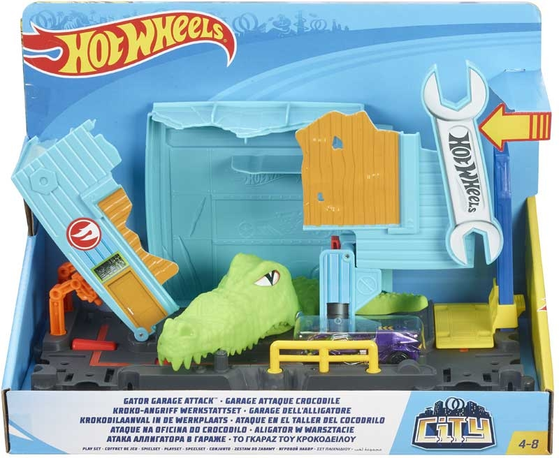 Wholesalers of Hot Wheels Gator Garage Attack Playset toys