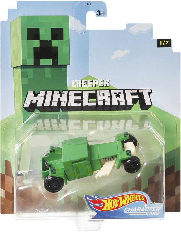 Wholesalers of Hot Wheels Licenced Minecraft Asst toys