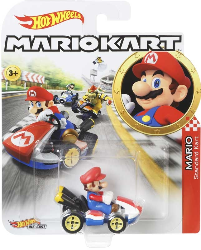 Wholesalers of Hot Wheels Mario Kart Asst toys