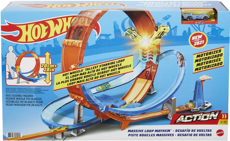 Wholesalers of Hot Wheels Massive Loop Mayhem Track Set toys