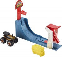 Wholesalers of Hot Wheels Monster Truck Big Air Breakout Play Set toys image 2