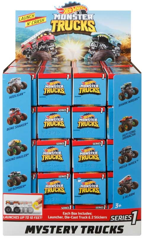 Wholesalers of Hot Wheels Monster Truck Blind Boxes Asst toys