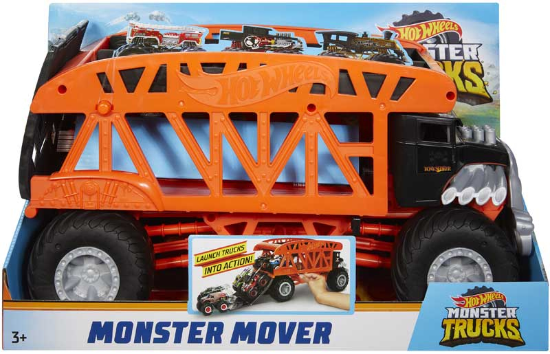 Wholesalers of Hot Wheels Monster Truck Monster Mover toys