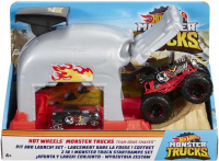 Wholesalers of Hot Wheels Monster Truck Pit And Launch Play Set toys image 2