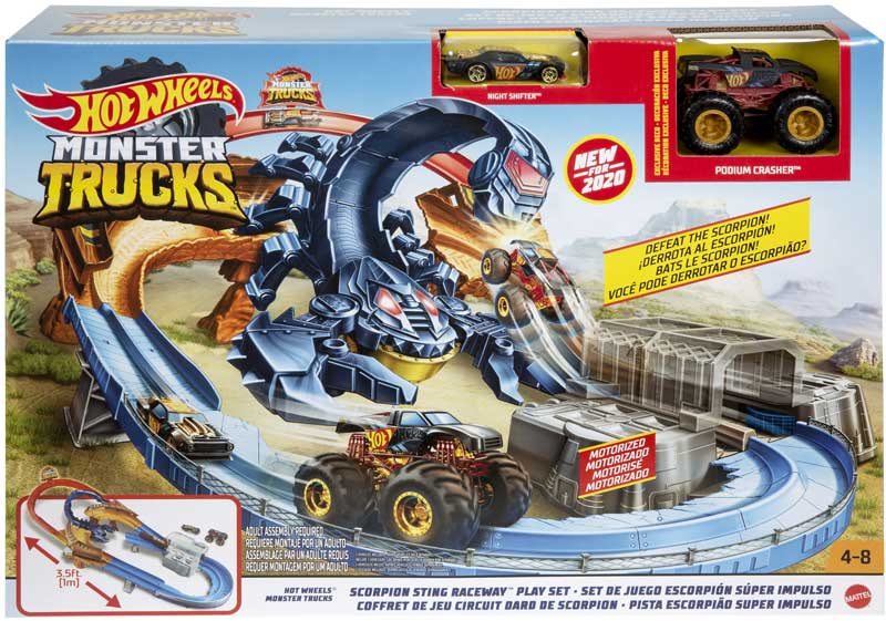 Wholesalers of Hot Wheels Monster Truck Scorpion Play Set toys