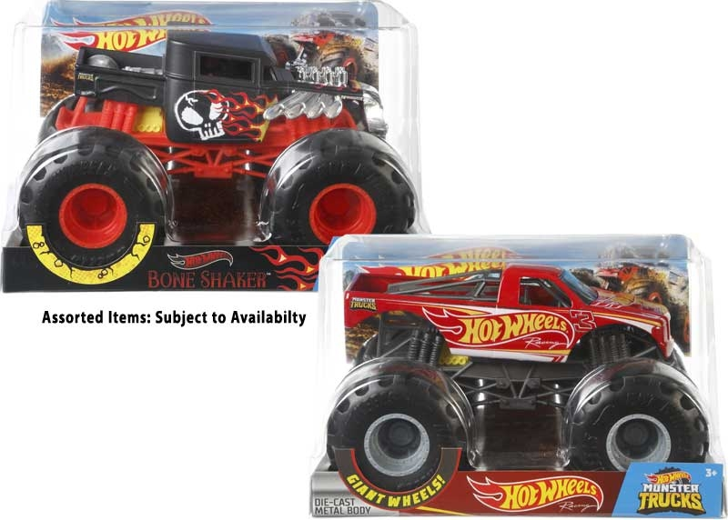 Wholesalers of Hot Wheels Monster Trucks 1:24 Assortment toys