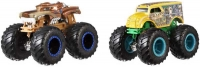 Wholesalers of Hot Wheels Monster Trucks 1:64 Scale Demolition Doubles Truc toys image 2