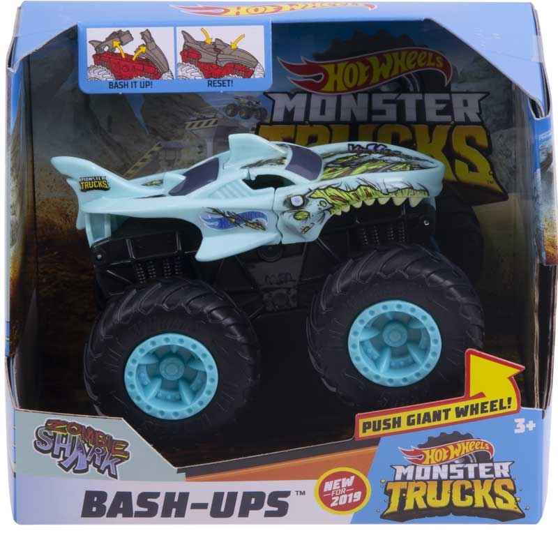 Wholesalers of Hot Wheels Monster Trucks Bash Ups Feature Asst toys