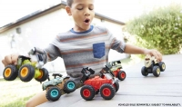 Wholesalers of Hot Wheels Monster Trucks Bash Ups Feature Asst toys image 6