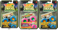 Wholesalers of Hot Wheels Monster Trucks Glow In The Dark Assortment toys image 2