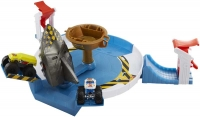 Wholesalers of Hot Wheels Monster Trucks Mecha Shark Face-off Playset toys image 2