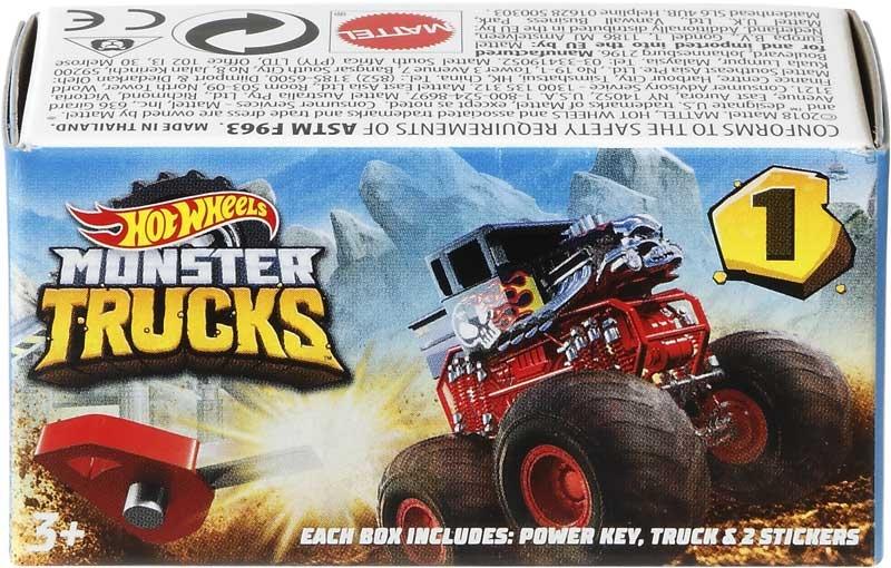 Wholesalers of Hot Wheels Monster Trucks Mystery Trucks Blind Bag Asst toys