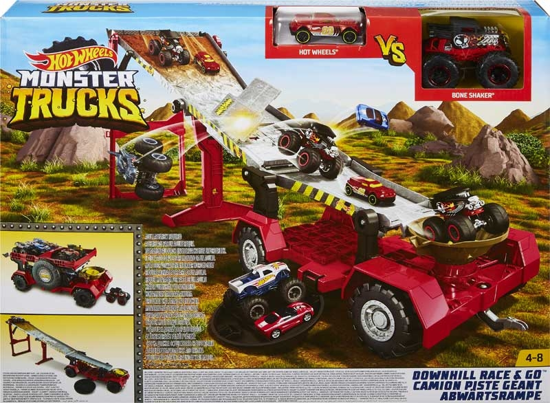 Wholesalers of Hot Wheels Monster Trucks Transforming 2-in-1 Mobile toys
