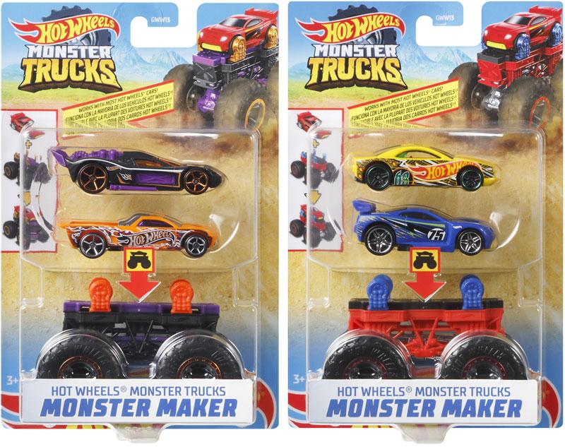 Wholesalers of Hot Wheels Mt Monster Maker Asst toys