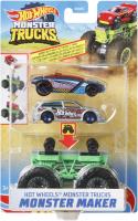 Wholesalers of Hot Wheels Mt Monster Maker Asst toys image 2