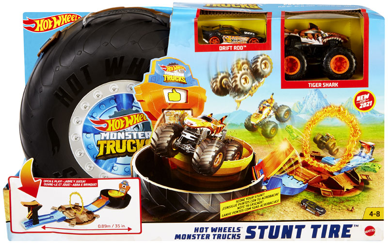 Wholesalers of Hot Wheels Mt Stunt Tyre Play Set toys