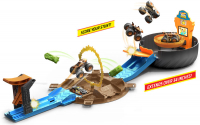 Wholesalers of Hot Wheels Mt Stunt Tyre Play Set toys image 2